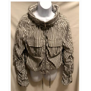 Vintage Sz 4 Giorgio Armani Oversized Crop Jacket